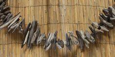 "Driftwood Garland - 72"" Strand (http://www.caseashells.com/driftwood-garland/)  #driftwood, #caiforniaseashellcompany"
