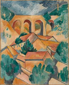 Guggenheim Bilbao Museoa   Georges Braque