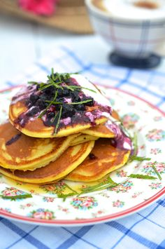 Snídaňové lívance   Painless pancakes