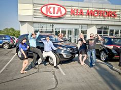 Picking up your new Kia Sportage in Newmarket, Ontario!