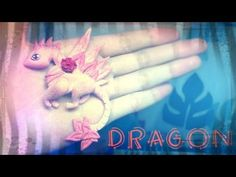♥ Polymer Clay Dragon Pendant Tutorial (Video)