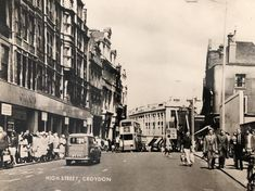 Old London, East London, Old Photos, Vintage Photos, Double Decker Bus, Croydon, Local History, Congo, Old Things