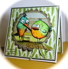 FS442, WT541, Happy birthday you old Bird by kokirose - Cards and Paper Crafts at Splitcoaststampers