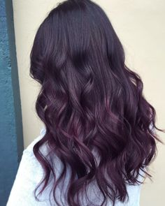 Gorgeous deep plum