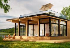 Bonneville Prefab Cabin, Canada [1300x900] : CabinPorn