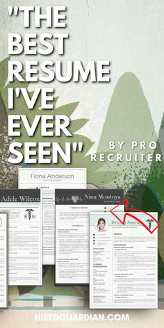 Why you need a Best Resume? Nowadays, Poor quality Resume is a no-no with a recruiter. That is why we are here to help you with how to make a resume and what skills to put on your resume. This Resume Template Bundle is for nursing student resume, registered nurse resume, also new nurse resume. This Include Resume Writing Tips all over the Resume. #rnresume #resumetemplate #resume #nursingresume #nursingresumetemplate #resumefornurse Nursing Resume Template, Resume Template Examples, Good Resume Examples, Creative Resume Templates, Student Nurse Resume, Registered Nurse Resume, Nursing Students, Effective Resume, How To Make Resume