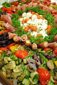 Antipasti Salad Platter | Recipe International