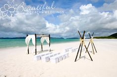 Our chocolate bamboo arbour with teepees on the stunning Whitehaven Beach, Whitsunday Island, Queensland.