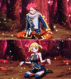 Matching natsu and Lucy even Virgo ships them<<<< pinning for that