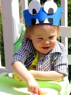 DIY Monster Party Headbands