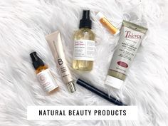 Did you know that the average women wears about 515 chemicals each day? I have been working towards using all natural beauty products. These have been my favorite, Young Living Grapefruit Chapstick + Aroma Bright Toothpaste, Beauty Counter Mascara + Tint Skin,  and Florapothecarie Facial Serum + Rose and Tea Facial Toner.