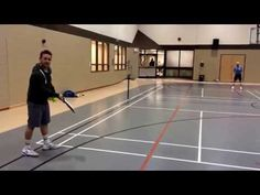 Gaining an easy advantage with the serve. - YouTube