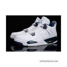 reputable site b3355 91936 Copuon Nike Air Jordan 4 Retro Columbia   Legend BlueFor Mens Girls  Basketball Shoes