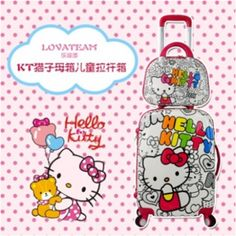 kids luggage children travel Trolley luggage abs pc hard shell kids luggage