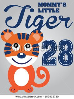 tiger vector/T-shirt graphics/cute cartoon characters/cute graphics for kids/Book illustrations/textile graphic/graphic designs for kindergarten/cartoon character design/fashion graphic/cute wallpaper