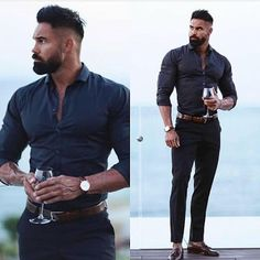 Stylish Men, Men Casual, Herren Outfit, Hommes Sexy, Mens Fashion, Fashion Outfits, Hair And Beard Styles, Gentleman Style, Men Looks