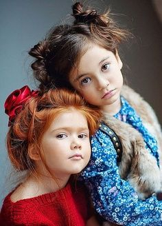 These adorable children and their hair..Too Cutee!