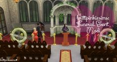 Funeral Event Mod at Brittpinkiesims • Sims 4 Updates