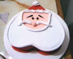 D' Glori: Torta en forma de Santa Claus