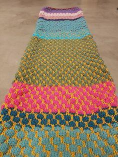 Wollreste werden zum Schal | Strickoholics - Mein Blog rund ums Stricken