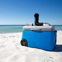IcyBreeze cooling off on the beach