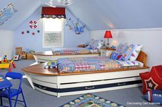 Bedroom, Sailor Kids Bedroom Themes Furmiture Interior With Amazing Colorful Decoration Also Bats Bed Design Ideas 21 Wonderful Home Decoration Design Ideas Picture 2014: How To Design A Bedroom That Grows With Your Child