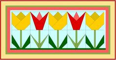 Tulip Paper Pieced Patterns
