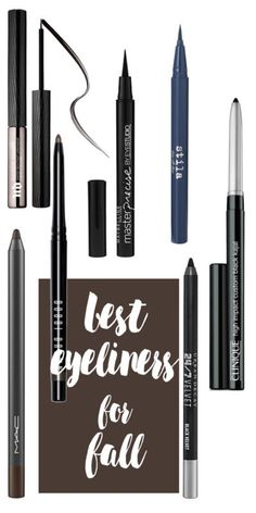 The Best Eyeliners for Fall
