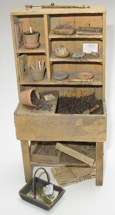 1000 images about miniature potting table on pinterest for Mini potting shed