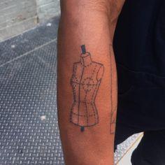 Ernest Linden - mannequin tattoo