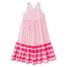 Toddler Girls' T-Shirt Dress - Sunglow Pink