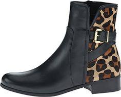Vaneli Women's Reetta Leopard Print Boots