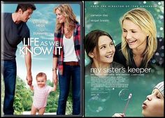 Favourite movies: Life As We Know It (starring Josh Duhamel and Katherine Heigl) and My Sister's Keeper (starring Abigail Breslin and Cameron Diaz).