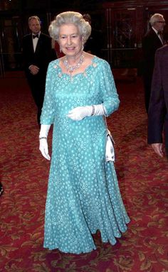 How the Queen dazzles through the years at the Royal Variety Performance galas - Picture 4