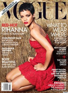 rihanna vogue cover