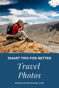 Photography tips for when you travel. These travel photo tips will help you take great pictures on vacation. Travel Goals, Travel Tips, Travel Destinations, Travel Ideas, Best Cameras For Travel, Travel Photos, Caribbean Vacations, Best Vacations, Photography Rules