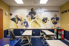 Notre Dame Football Position Rooms | Advent | Nashville, TN