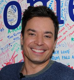 Jimmy Fallon - what a hottie!  Hilarious and hot!
