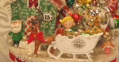 Rudolph is ready! He is one of my Christmas favorites! Here is my Rudolph the Red Nosed Reindeer Christmas Collage box.... So...