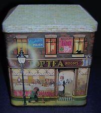 The Silver Crane Company ~ Top Tea Rooms ~ Collectors Tin