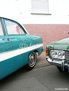 Ford Taunus 12 M und Ford 26 M der Fünfziger und Sechziger Jahre bei den Golden Oldies in Wettenberg bei Gießen
