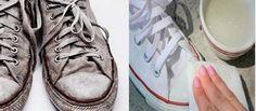 Quem não tem um par de sapatos ou tênis brancos?Esta parece ser uma peça-chave, seja por exigência de muitas profissões ou simplesmente pela elegância da cor.