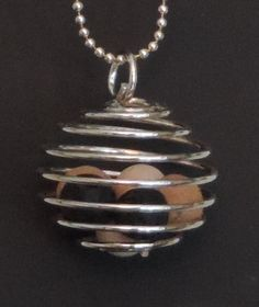 aromAdorn Aromatherapy Necklace All natural and by aromAdorn