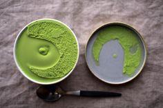 green tea ice cream.... <3 @Regina Ban Toledo Como en los viejos tiempos!