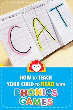 How to Teach Your Child to Read Using Phonics Games