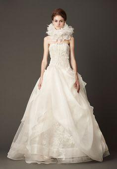 Vera Wang Fall 2013 Wedding Dress Collection | junebugweddings.com