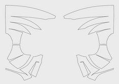 Dali-Lomo: How to make Spider-Man Face Shell DIY - Cardboard (template) Mascara Spiderman, Spiderman Face, Spiderman Cosplay, Spiderman Suits, Cardboard Mask, Diy Cardboard, Cardboard Castle, How To Make Spiders, Diy Karton