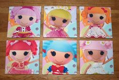 LALALOOPSY Canvas Pictures..good idea for Marleigh's bedroom