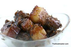 Phuket Style Sweet Pork Braised with Soy Sauce (หมูฮ้องอาหารท้องถิ่นของภูเก็ต ; Muu Haawng) - Thaifoodmaster