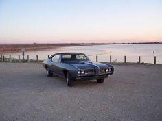 1968 GTO at sunset....ahhhh